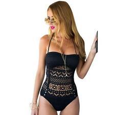 Sexy Women One Piece Swimsuit Swimwear Bathing Clothes Push Up Padded Bikini P1