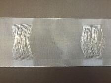 10m Uni-Schlaufenband 100mm Gardinenband Gardinenzubehör