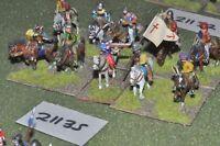 25mm renaissance / generic - 10 cavalry - cav (21135)