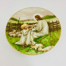 The Lord is My Shepherd Collector Plate - Beloved Hymns of Childhood Series 1988