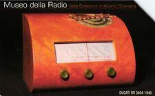 G 2090 592 C&C 4175 SCHEDA TELEFONICA USATA MUSEO DELLA RADIO DUCATI