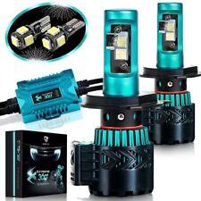 Glowteck Extreme 360 LED Headlight Bulb Conversion Kit 9003 H4 12000 Lumen Pair