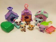 LPS Littlest Pet Shop 6x Bear/ Polar Bears Bundle with houses & accessories