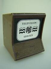 Vintage 1960's Pye Television plastic money box