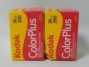 2 Pack Kodak Color Plus Photo Camera Film Expired 1/19
