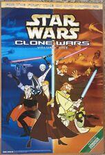STAR WARS CLONE WARS VOLUME 1 TV SERIES MOVIE POSTER 1 Sided ORIGINAL 27x40
