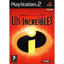 Sony PlayStation 2 - Walt Disney Pixar the Incredibles PS2 juego basado en