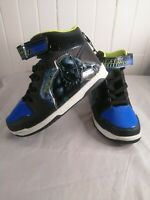 Black Panther Marvel Avenger Lighted Kid Shoes New Without Box