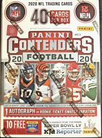 2020 Panini Contenders Football NFL Blaster Box Brand New Sealed prizm donruss