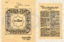 Landlord's Game (Monopoly) Patent - 1924 #084.5