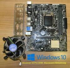 Asus H110M-K Mainboard LGA1151 > 6th 7th Gen. zb. I7 7700K DDR4 ? Windows 10 Pro