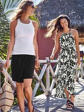 Athleta Ikat Bloom Ripple Maxi Dress Black White Shelf Bra XS NWT  BC