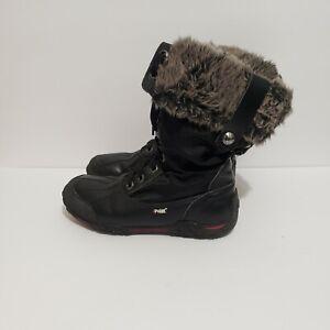 pajar boots size 7 black