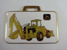 John Deere Backhoe Loader Richards Machinery Corp. Metal Watch Fob
