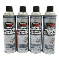 Carb Cleaner Non-VOC Compliant Removes varnish sludge deposits carbure (4) 16oz