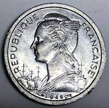 # 7056C     REUNION  COIN,    1  FRANC     1948  Unc.