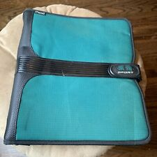 Vintage Mead 2� Binder Green Nylon Five Star Sport