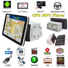 10.1In 2 Din Android 8.1 Coche Radio Estéreo reproductor de MP5 BT unidad de cabeza de navegación GPS