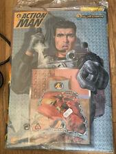 New Unused Vintage Action Man Single Duvet Cover Set Mission Hasbro