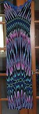 BUTTERFLY MAXI SUNDRESS PLUS SIZE 4 XL MULTICOLOR NWT
