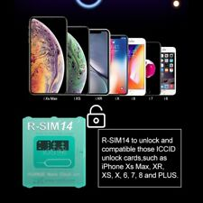 2pcs R-SIM14 Nano Unlock RSIM Cloud Card for iPhone 11/Pro/XS/Max/XR/8/7/6s/6/5