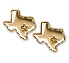 State Of Texas Cufflinks Jewelry 14k Gold Handmade Texas Cufflinks TX22-CLG