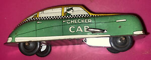 Courtland Metal Wind Up Checker Care Toy