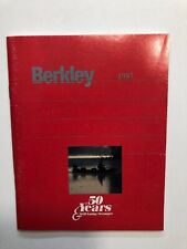 1987 Berkley Fishing Products Catalog *Nice Catalog Color Pictures*