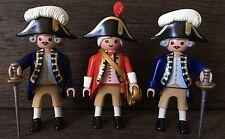 playmobil royal guards British Redcoat figures rare custom 6228 Confederate