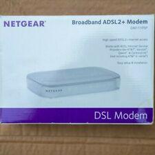 NETGEAR DSL modem, Broadband ADSL2+ Modem, white