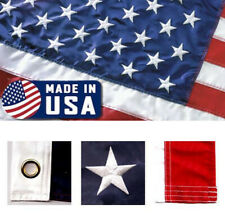 3x5 ft EMBROIDERED US FLAG AMERICAN FLAG ( MADE IN USA ) by Valley Forge
