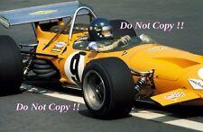 Peter GETHIN McLaren M14A Messicano GRAND PRIX 1970 Fotografia