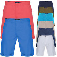 MENS CHINO SHORTS COTTON SUMMER CASUAL JEANS CARGO COMBAT HALF PANTS NEW SIZE
