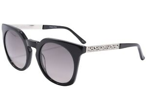 Karl Lagerfeld Women's Black Cat Eye Round  KL947S 51mm Sunglasses