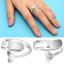 Tiny Cute Silver Whale Ring Whale Rings Animal Open Finger Ring Adjustable Gift