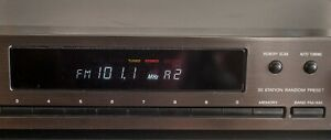 SONY ST-JX521 AM/FM STEREO TUNER
