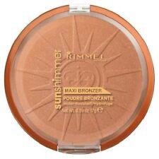 RIMMEL Sun Shimmer Maxi Bronzer SUN STAR 004 waterproof resistant bronzing NEW