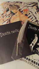 Death Note Cosplay Notebook Journal  Anime Manga with pen quill and poster