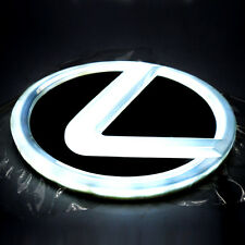 4D Car LED Real Logo Light Auto Badge Cold Light Emblems Lamp For Lexus GS300