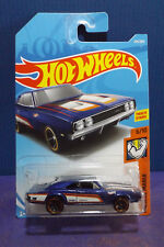 2018 Hot Wheels '69 DODGE CHARGER 500 in PURPLE, HW MUSCLE MANIA 6/10 Long Card