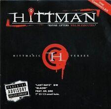 "Hittman: ""Last Days/ Blaow""  [Single] [PA]  (color Vinyl, Nov-2011)  Autographed"
