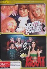 AUSTIN POWERS - INTERNATIONAL MAN OF MYSTERY / SCARY MOVIE (DVD, 2008, 2-Disc...