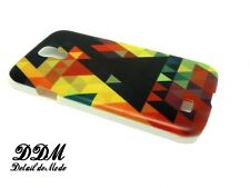►► Coque Samsung S3 S4  - Patchwork de triangle (mode frise azteque case cover)