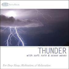 Thunderstorm: Sounds of Distant Thunder Rumble, Rain, & Ocean Waves NEW UNOPENED