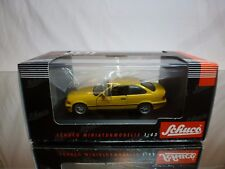 SCHUCO 4062  BMW 325i COUPÉ - YELLOW 1:43 - EXCELLENT IN BOX