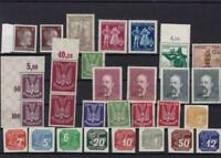 germany  mixed mounted mint stamps ref r15224