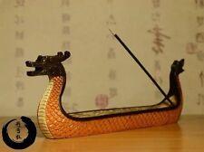 """Resin Incense Stick Holder """"Dragon Boat"""""""