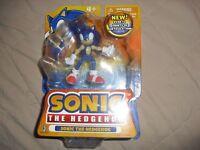 sonic the hedgehog jazwares action figure nib toy super rare sonic figure sega
