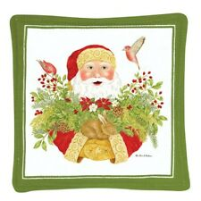 Alice's Cottage Cotton Scented Spiced Mug Mat Coaster Christmas Santa - NEW