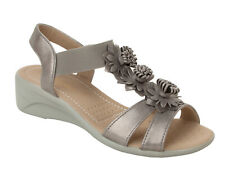 0dabe54e2bf74 Wide (E) Floral Sandals & Beach Shoes for Women for sale   eBay